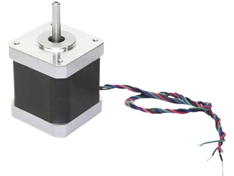 Stegmotor MOTS4/SP 2,5 A 1,8 ° Passar till 3D-skrivare: velleman K8200 MOTS4/SP