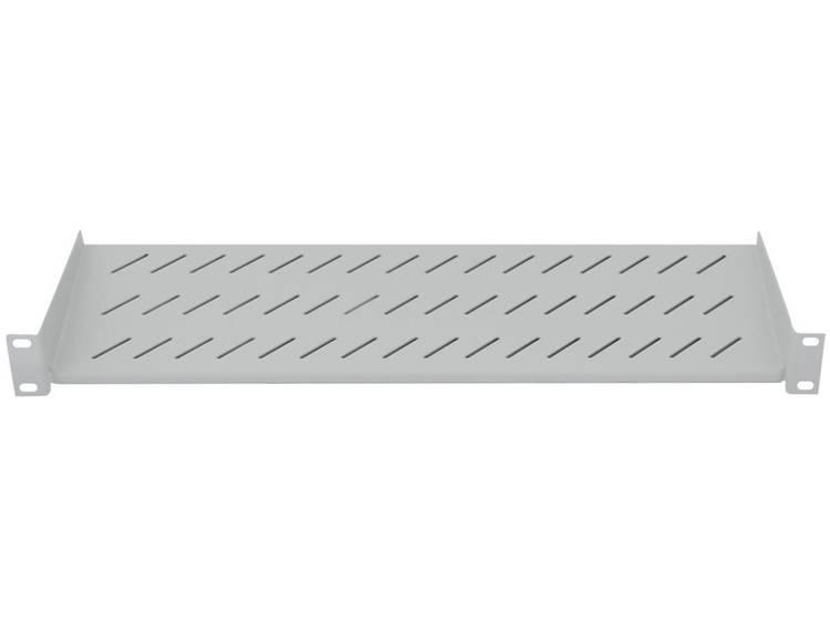 LogiLink 19  Nätverksskåp-hyllplan LogiLink SF2C45G SF2C45G 2 U Grå 1 st