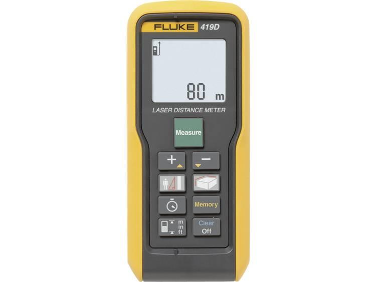 Fluke 419D Laseravståndsmätare Kalibrerad enligt ISO Stativadapter 6.3 mm (1/4) Mätområde (max.) 80 m