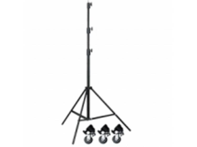 Walimex Pro 13399 Lampstativ Arbetshöjd 280 cm (max) inkl. väska