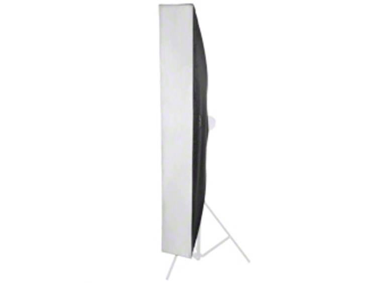 Softbox Walimex Pro Striplight 25x180cm f. walim (L x B x H) 1180 x 250 x 220 mm 1 st