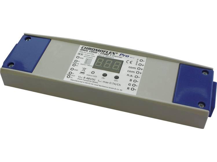 Barthelme CHROMOFLEX® Pro DMX i350/i700 3-Ch. V1.1 LED-dimmer 180 mm 52 mm 22 mm