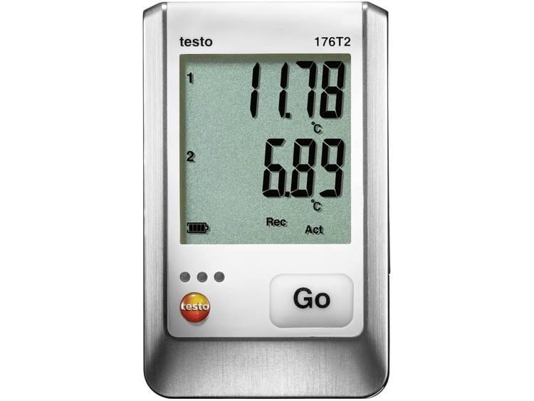 testo 176 T1 Temperatur-datalogger Mått Temperatur -35 till 70 °C Kalibrerad enligt (ej certifierad kalibrering)