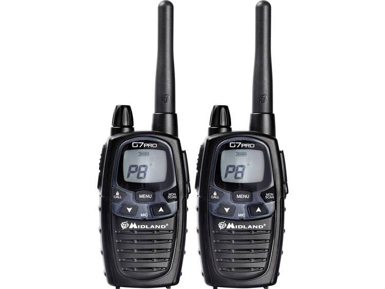 Midland G7 Pro Twin C1090.13 LPD/PMR-handradio Set 2 st