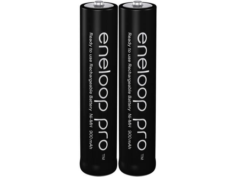 Panasonic eneloop Pro HR03 Laddbart batteri R03 (AAA) NiMH 900 mAh 1.2 V 2 st