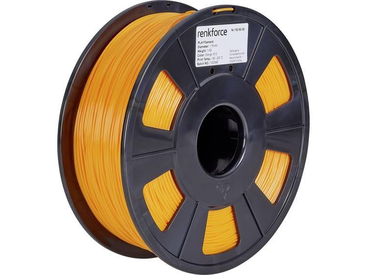 Renkforce RF-4511208 3D-skrivare Filament PLA-plast 1.75 mm 1000 g Orange
