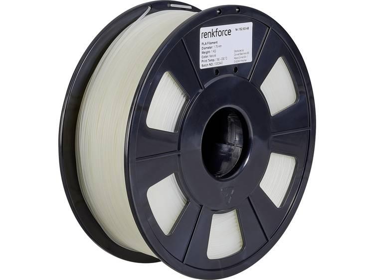 Renkforce RF-4511200 3D-skrivare Filament PLA-plast 1.75 mm 1000 g Transparent