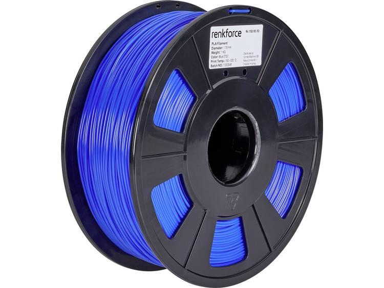 Renkforce RF-4511194 3D-skrivare Filament PLA-plast 1.75 mm 1000 g Blå