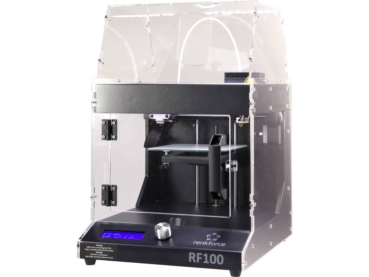Hölje Passar till 3D-skrivare: renkforce RF100 v2 , renkforce RF100