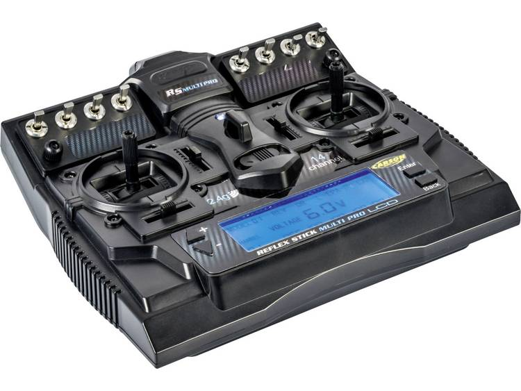 Carson Modellsport Reflex Stick Multi Pro LCD Sändare 2,4 GHz Antal kanaler: 14 inkl. mottagare