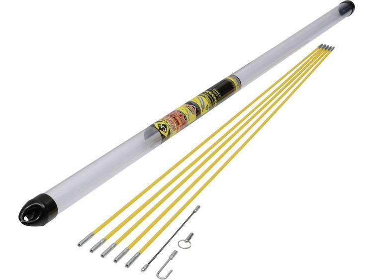 MightyRod PRO Starter kabeldragstänger-set 5 m C.K. MightyRod PRO 6 mm 5 m 1 set