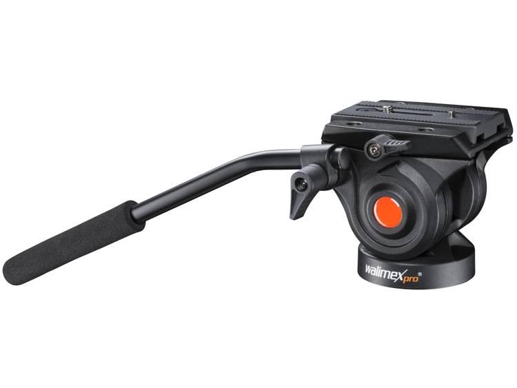 Walimex Pro Videoneiger für Video-Einbein-Stativ Enbensstativ 1/4 , 3/8  Svart