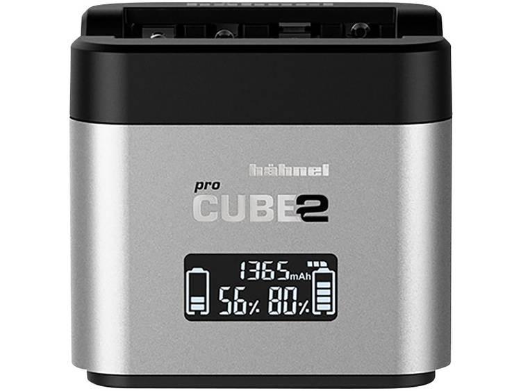 Hähnel Pro Cube 2, Canon 10005700 Kamera-laddare Passande batterityp LiIon, NiMH