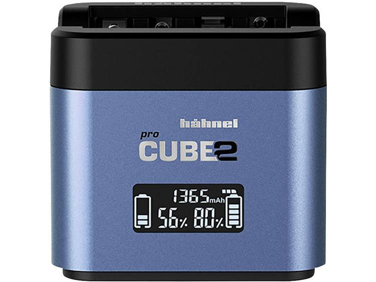 Hähnel Pro Cube 2, Fuji, Panasonic 10005730 Kamera-laddare Passande batterityp LiIon, NiMH