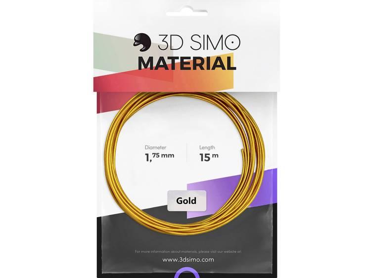 3D Simo 3Dsimo Gold 3D-skrivare Filament 1.75 mm 40 g Guld