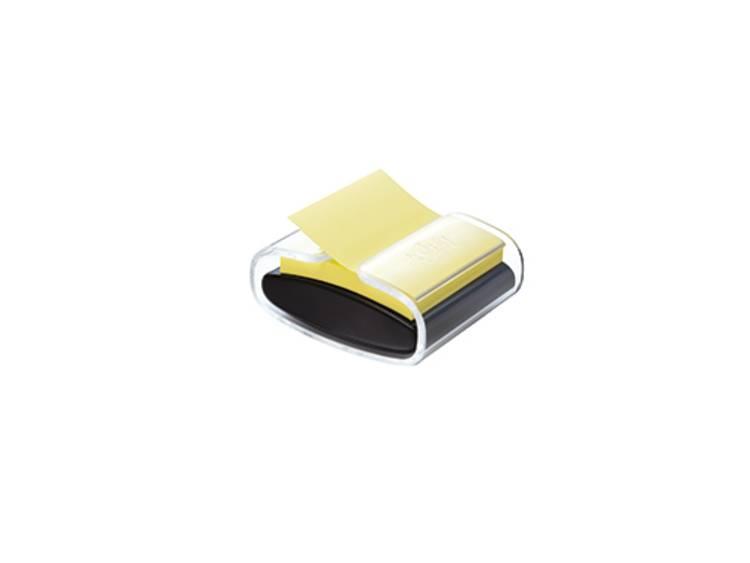 Post-it Häftnotisdispenser PRO-B1Y max. antal ark: 90 s. Gul Färg på behållaren: Svart (transparent)