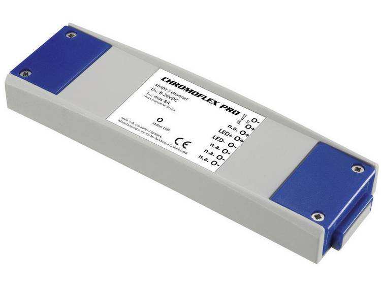 Barthelme CHROMOFLEX Pro stripe 1-channel LED-dimmer 192 W 868.3 MHz 50 m 180 mm 52 mm 22 mm