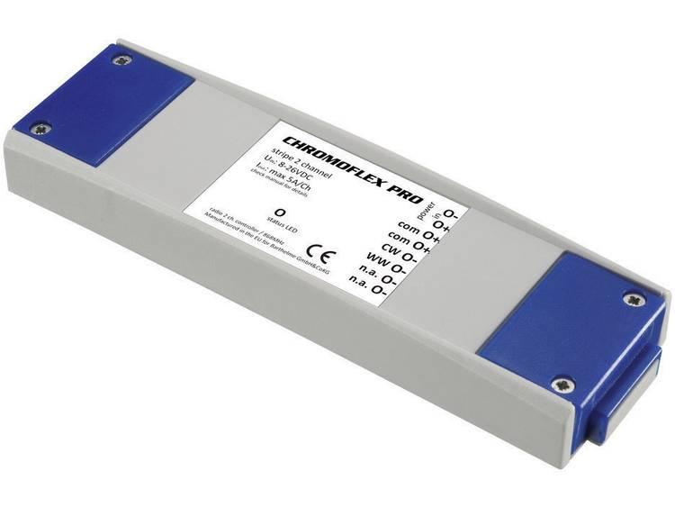 Barthelme CHROMOFLEX Pro stripe 2-channel LED-dimmer 240 W 868.3 MHz 50 m 180 mm 52 mm 22 mm