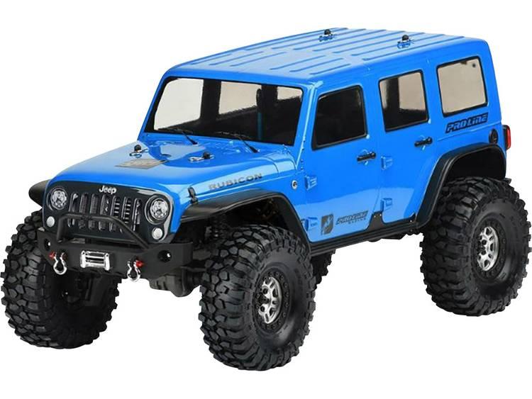 Pro-Line PRO-3502-00 1:10 Crawler-kaross Jeep Wrangler Unlimited Rubicon Hjulbas 325 mm Olackerad, ej utskuren
