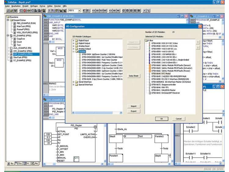 WAGO 759-333/000-923 I/O-PRO CAA PLC-programvara