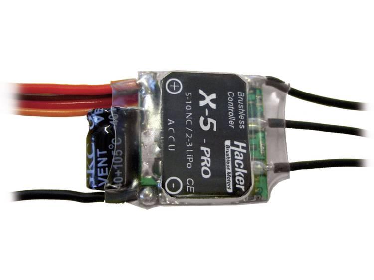 Hacker X-5-Pro BEC Borstlös regulator för flygmodell