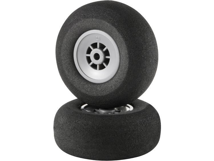Skumgummihjul för modellflyg Superlätt Reely 51 mm 1 par