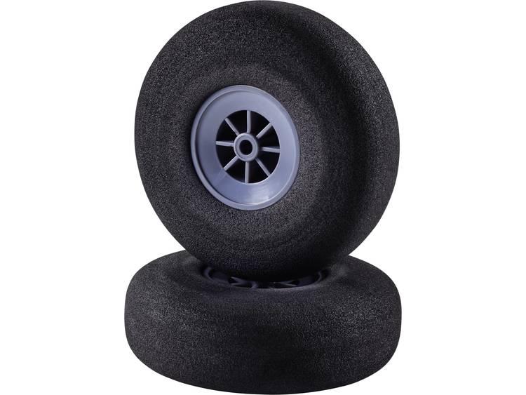 Skumgummihjul för modellflyg Superlätt Reely 76 mm 1 par