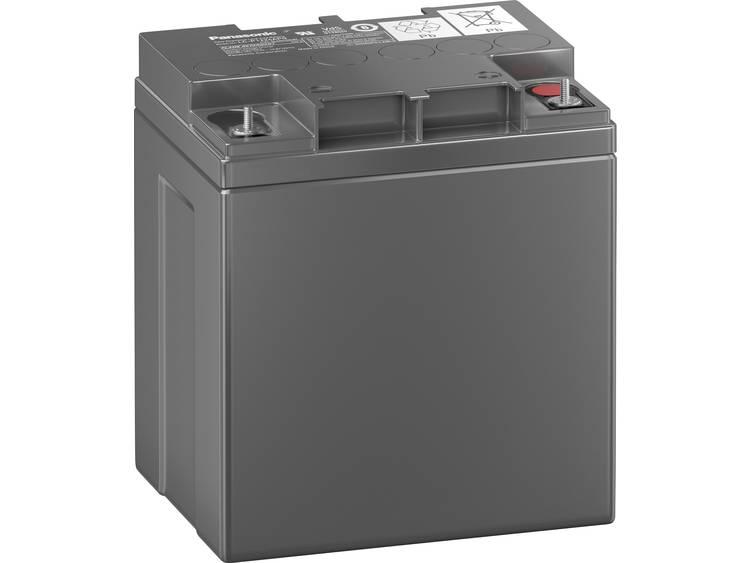 Panasonic LCL 12V24P LC-P1224APG Blybatteri 12 V 24 Ah Bly AGM (BxHxD) 165 x 175 x 125 mm M5-skruvanslutning VDS-certifiering, Underhållsfri, Låg