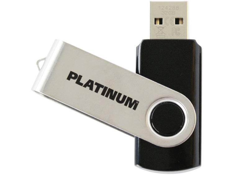 Platinum TWS USB-minne 64 GB Svart 177574-3 USB 2.0