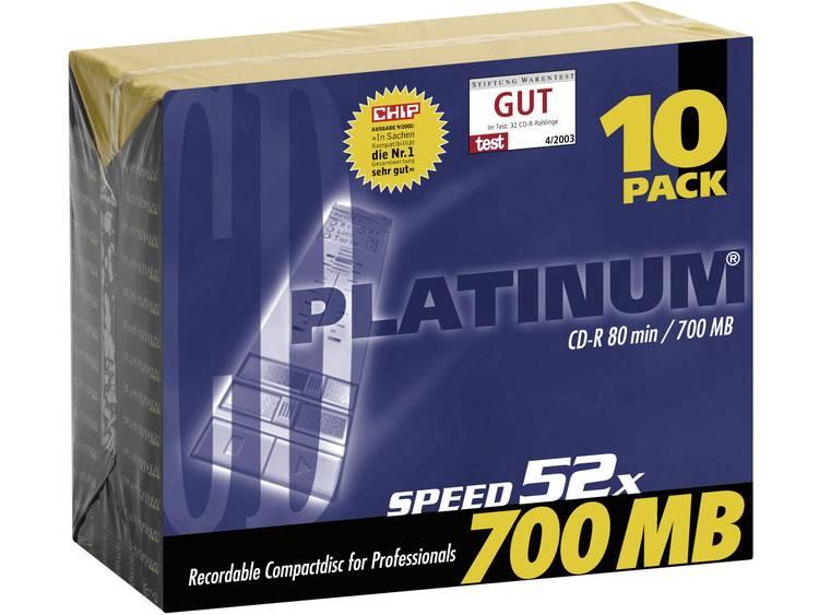 Platinum 100144 CD-R 80 700 MB 10 st Slimcase