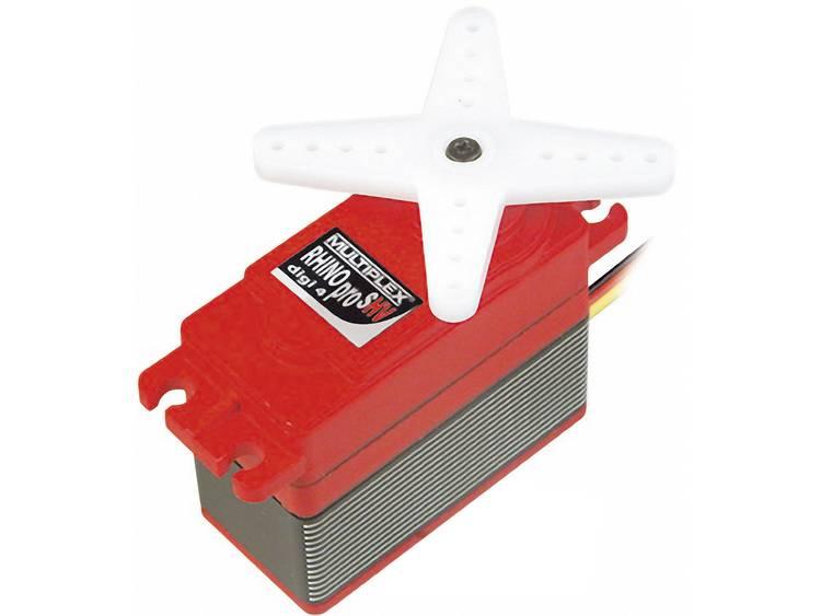 Multiplex Special-Servo RHINO pro SHV digi 4 Digital-servo Transmissionsmaterial Metall Instickssystem JR