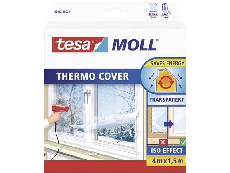 tesa Isoleringsfolie tesamoll® thermo Cover Transparent (LxB) 4 m x 1.5 m tesa 05432-00 1 rullar (n)