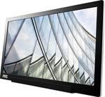 "AOC Pro-line I1601FWUX 15,6 ""Full HD LED Flat Black - Strieborný počítačový monitor"