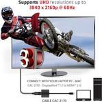 Club 3D Mini DisplayPort 1,2 až HDMI 2.0 4K60Hz UHD aktívny adaptér