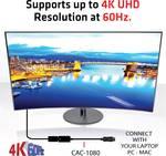 Club 3D DisplayPort 1.4 do HDMI 2.0b HDR aktívny adaptér