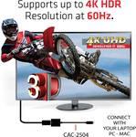 Club 3D USB 3.1 typu C na HDMI 2.0 UHD 4K 60HZ Aktívny adaptér