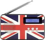 Reflexné stolné rádio GB Design TRA5005D + GB