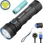 Hľadač 2 LED baterky