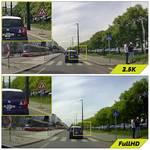 Kamera do auta H7 GPS 2.5K