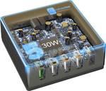 Cellularline Multi-Power 5 pripojení, max. 60 W, čierny