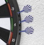 Šípkový terč MAXXMEE so 6 šípkami