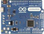 Arduino Leonardo bez hlavičiek