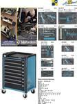 Pomocný vozík na náradie MERCEDES-BENZ 179-8 vrátane 296-dielneho sortimentu nástrojov