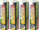 Výdrž NiMH Mignon batérie 2600 mAh, 4 kusy