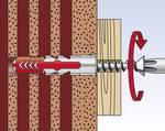 FIXtainer hmoždinka DUOPOWER elektrikár