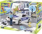 Detské policajné auto s obrázkom