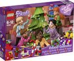 LEGO® FRIENDS 41353 Adventný kalendár s vianočnými ozdobami