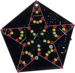 Zvuková LED hviezda