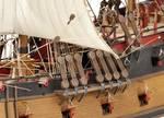Model lode Pirátska loď