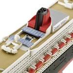 Loď model Ocean parník Queen Mary 2